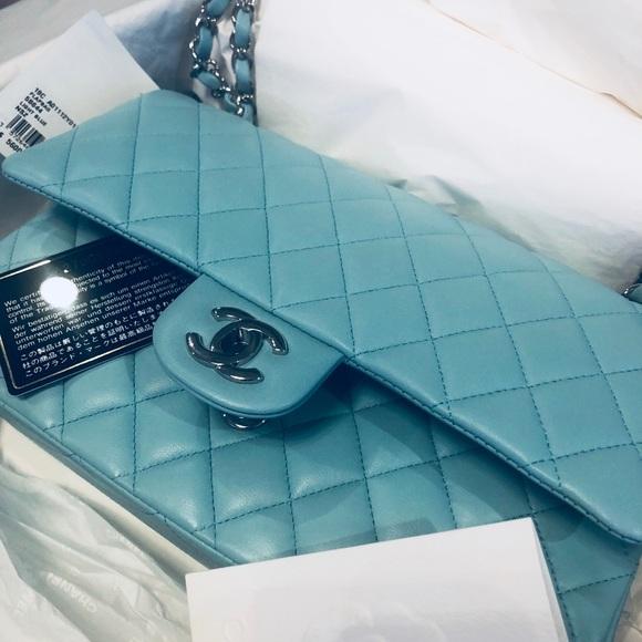 CHANEL Handbags - Not For Sale CHANEL Tiffany Blue Medium